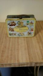 1950's Roy Rogers And Dale Evans Double R Bar Ranch Lunch Box With Thermos. Fair..