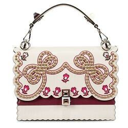 Fendi Medium Multicolor Kan I Leather Bag $2,699.00