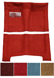 New 1961-1964 Chevy Impala Carpet Set Molded W/ Backing And Heel Pad Pick Color