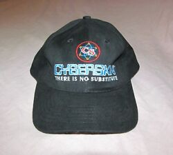Cyberskin There Is No Substitute CS All embroidered Vintage Promo hat c. 2000