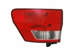 Left Outer Tail Light Assembly For 11-13 Jeep Grand Cherokee WZ79S6