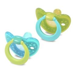 First Years Y6196 GumDrop Infant Pacifier Assorted Colors 2 Count