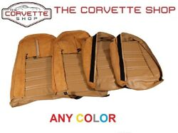 C3 Corvette 100 Leather Seat Covers 1975 Any Color 4196xx