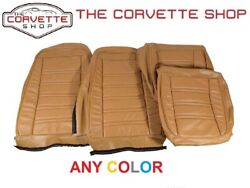 C3 Corvette Leather Vinyl Seat Covers 1975 Any Color 4195xx Correct Reproduction