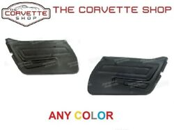 C3 Corvette Door Panels Basic Left And Right Pair 1977 Any Color 4429xx 4430xx