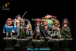 Pts Red Hair Pirates Set Of 9 Resin Figure Shanks One Piece Gk Collections New