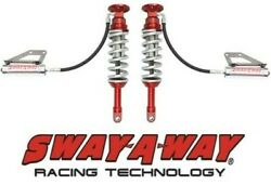 Sway-a-way 3.0 Front Remote Reservoir Coilover Kit Fits 10-14 Ford F150 Raptor