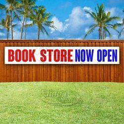 Book Store Now Open Advertising Vinyl Banner Flag Sign Large Huge Xxl Size