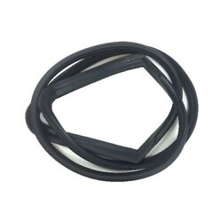 Windshield Rubber Seal For 66-70 Plymouth And Dodge 2-door Hardtop W/chrome Trim