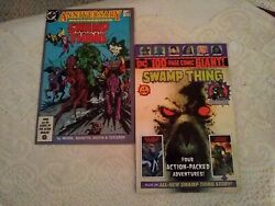 Dc 1986 Swamp Thing 2nd 50 Fn-vf 2019 100 Page Giant 1 Walmart Vf