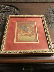 A Thangka Of Palden Lhamo Tiebet 18th Century Signed And Framed