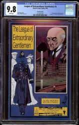 League Of Extraordinary Gentlemen 5 Cgc 9.8 White Abc 2000 Recalled Edition