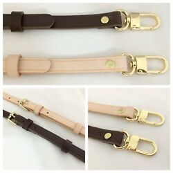VBP Adjustable Leather vachetta replacement strap fits Louis Vuitton Monogram $24.95