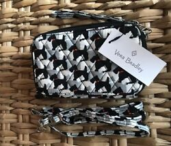 Vera Bradley All In One Crossbody For iPhone 15863 D67 Scottie Dogs $68 $35.00
