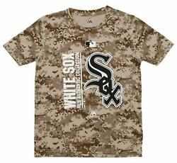 Majestic MLB Youth Chicago White Sox Short Sleeve AC Team Icon Tee $14.99