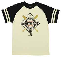 OuterStuff MLB Youth Chicago White Sox Diamond Short Sleeve Tee Cream $9.99