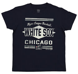 OuterStuff MLB Youth Chicago White Sox Major League Baseball Tee Navy $9.99