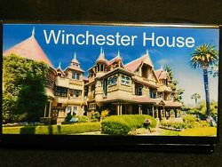 Elongated Pressed Penny Souvenir Album Book ... Winchester Mystery House