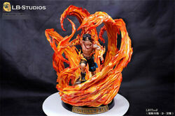 Lbs Portgas D Ace Resin Figure Statue Model Gk One Piece New 1/4 Shcc Version