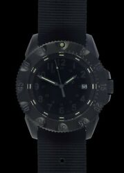 Mwc P656 Tactical Series Watch Gtls Tritium Subdued Dial Automatic Sapphire
