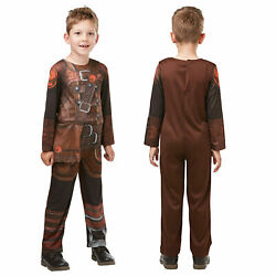 Rubies Kids Official How To Train Your Dragon Deluxe Hiccup Fancy Dress Costume