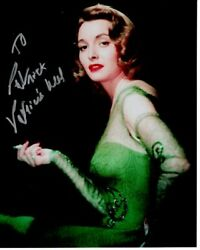 Patricia Neal Autographed Signed Photograph - To Patrick