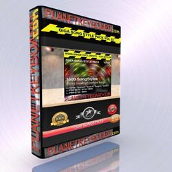 Giga Pack Vol 02 1500 Songstyles- Song Styles For Yamaha Genos Psr-sx900 Tyros 5