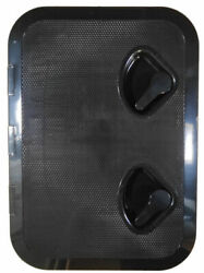 Seaflo Marine Boat Deck Access Hatch And Lid 17.3 X 12.4 - Black 440mm X 315mm