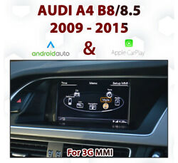 [touch] Audi A4 3g Mmi - Touch Overlay Apple Carplay And Android Auto Integration