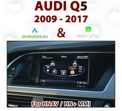[touch] Audi Q5 3g Mmi - 2009-17 Touch Overlay Apple Carplay And Android Auto