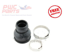 Seadoo Spark Drive Shaft Rubber Boot Seal Kit W/ Clamps Repl 295501148 271001762