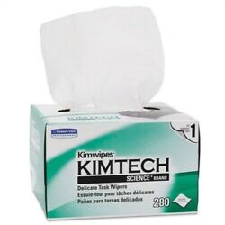 KIMWIPES Delicate Task Wipers 4 25 x 8 25 280Box Sold as 1 Box 280 Each
