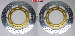 Front Brake Disc Rotors (set of 2) for Yamaha - GOLDfren 603-006F