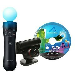 Ps3 - Official Move Starter Pack + Motion Gamepad + Camera [sony]