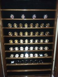 2007 To 2016 Us Mint Presidential 1 Coin Proof Sets - Ogp - Complete Series