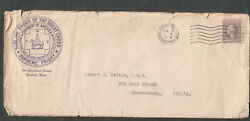 1919 advertising cover Sublime Order Of The Great Cross Supreme Priory Boston PA