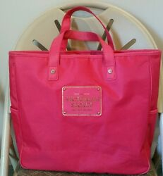 Victoria#x27;s secret The sexiest tote on earth pink tote laptop bag $11.99