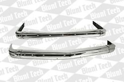 Bmw E21 3 Series Stainless Euro Bumpers New