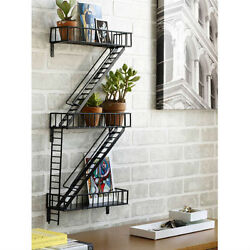 Fire Escape Shelf A Great Gift 4 City-lovers And Apartment-dwellers Ny Landmark