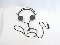 Military Operator Switchboard Alnico Magnetic Headset