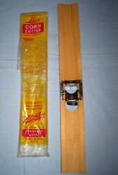 Vintage Lee's Corn Cutter And Creamer For Whole Kernel And Cream Style Corn