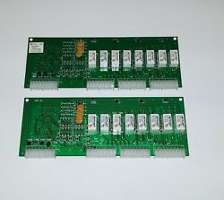 Set Of 2 Gamewell Evax Mx Mbk-2b Relay Cards For Hmx-dp Network Audio System