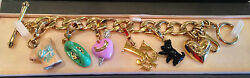 Juicy Couture Charm Bracelet With Retired Charms
