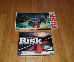 Risk Board Game 1980 Parker Brothers World Conquest Roman Numeral And Strategy One