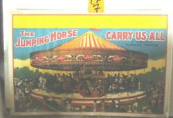 Rare Jumping Horse Carry-us-all Circus Poster 7 Vintage Antique