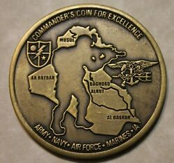 Joint Special Operations Jsoc Tier-1 General Mcchrystal Iraq Challenge Coin