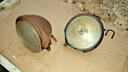Case Dc Tractor Guide Headlights Parts Lens Light Buckets Parts