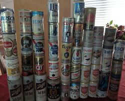 Lot Of 42 Collectible Beer Cans Vintage Schlitz Olde English Wiedemann Pearl