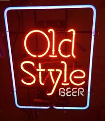 Heilemans Old Style Beer Lighted Neon Sign