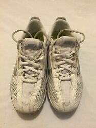 Nike Zoom Trainer Essential White/silver Running Shoes Size 7 324514-101